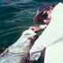 Captain Barry with a huge Florida Keys Tarpon