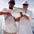 Captain and client with a nice florida keys Permit